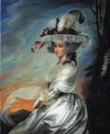 john singleton copley mrs. daniel denison rogers oil paintings