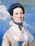 portrait paintings - portrait of mrs. george turner by john singleton copley