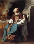john singleton copley samuel reading to eli the judgments of god upon eli s house painting