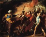 john singleton copley saul reproved by samuel for not obeying the commandments of the lord art