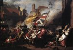 john singleton copley the death of major pierson painting