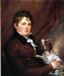 portrait paintings - portrait of john m. trumbull the artist s nephew by john trumbull