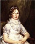 portrait paintings - portrait of mrs. isaac bronson nee anna olcott by john trumbull