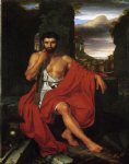 caius marius amid the ruins of carthage by john vanderlyn painting