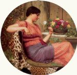 john william godward the time of roses painting 84283