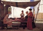john william waterhouse a flower stall painting 29944