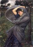 boreas by john william waterhouse painting
