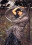 boreas iii by john william waterhouse painting