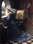 fair rosamund ii by john william waterhouse painting