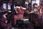 john william waterhouse penelope and the suitors prints
