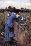 john william waterhouse the flower picker sketch painting 29997