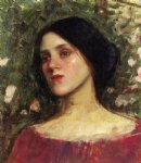 john william waterhouse the rose bower painting 30006