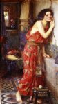 thisbe by john william waterhouse painting