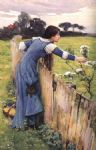 john william waterhouse waterhouse the flower picker painting 85006