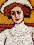 zora in a broad by jozsef rippl ronai painting