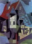juan gris landscape at beaulieu painting 29854