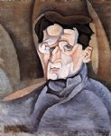 juan gris portrait of maurice raynal painting 29879
