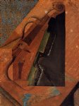 the violin by juan gris painting