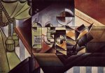 the watch by juan gris painting