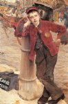 london bootblack by jules bastien lepage painting