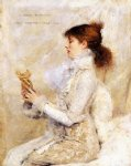 portrait paintings - the sarah bernhardt portrait by jules bastien lepage