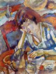 hermine by jules pascin painting