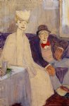 jules pascin odd couple in a waiting room art
