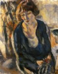 jules pascin portrait of hermine david ii painting 29703