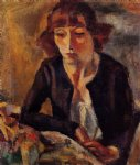 jules pascin portrait of hermine david painting 29705