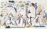 salome ii by jules pascin painting