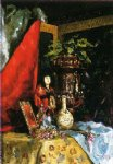 julius leblanc stewart still life with asian objects painting
