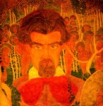 kasimir malevich self portrait ii painting 29579