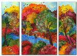 landscape autumn wind paintings