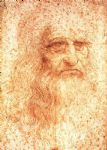 portrait paintings - da vinci self portrait by leonardo da vinci