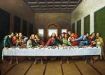 original oil paintings - original picture of the last supper by leonardo da vinci