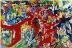 bar at 21 by leroy neiman painting