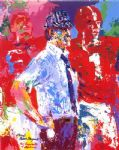 bear bryant by leroy neiman painting