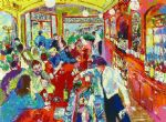 buena vista bar by leroy neiman painting