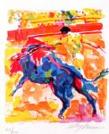 bullfight by leroy neiman painting