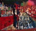 chicago key club bar by leroy neiman painting