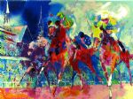 churchill downs by leroy neiman painting