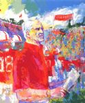 coach bill walsh by leroy neiman painting