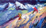 downers by leroy neiman painting
