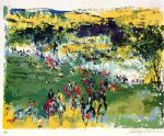 fox hunt by leroy neiman painting