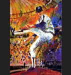 gaylord perry by leroy neiman painting