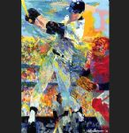 leroy neiman hall of famer painting