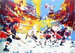 ice men by leroy neiman painting