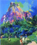 international foursome by leroy neiman painting