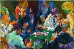 international poker by leroy neiman painting