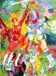 kentucky wildcats by leroy neiman painting